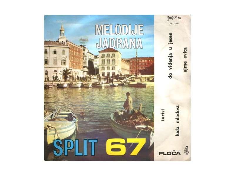 Various - Melodije Jadrana 4. - Split 67