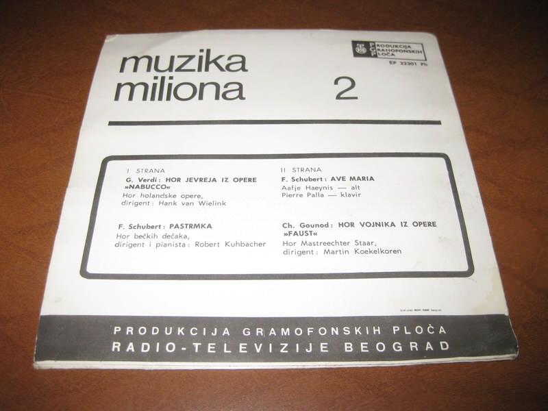 Various - Muzika Miliona 2