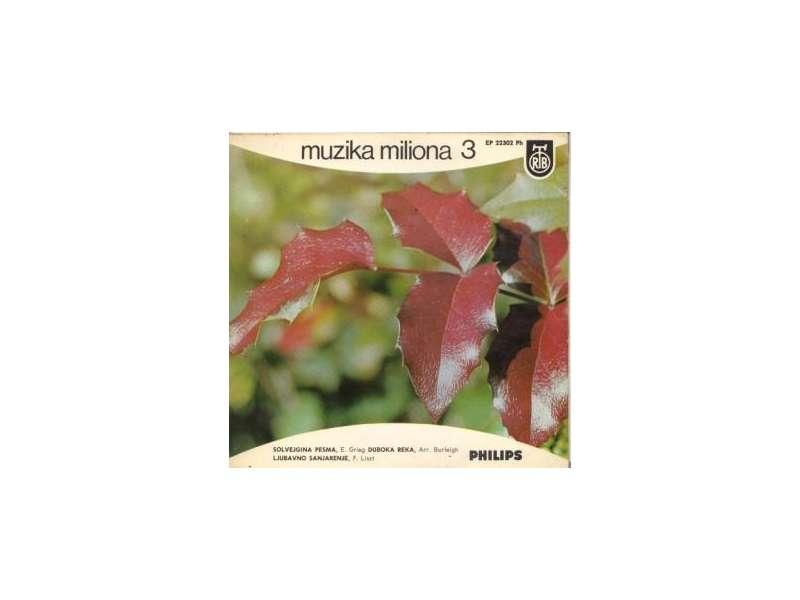 Various - Muzika Miliona 3