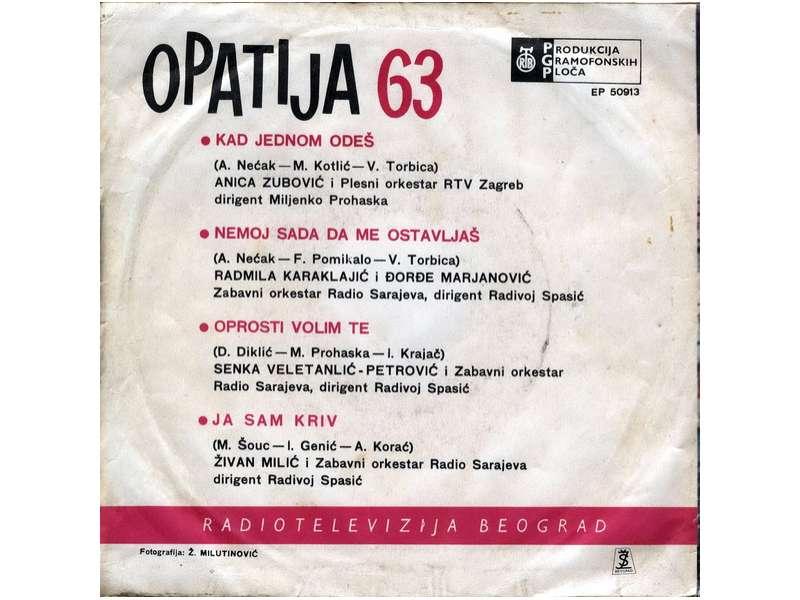 Various - Opatija 63 - Kad Jednom Odeš