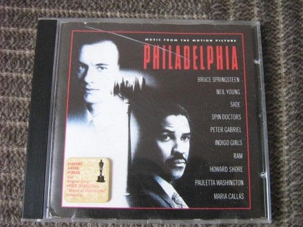 Various - Philadelphia (Music From The Motion Picture)