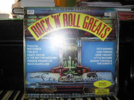 Various - Rock`N`Roll Greats