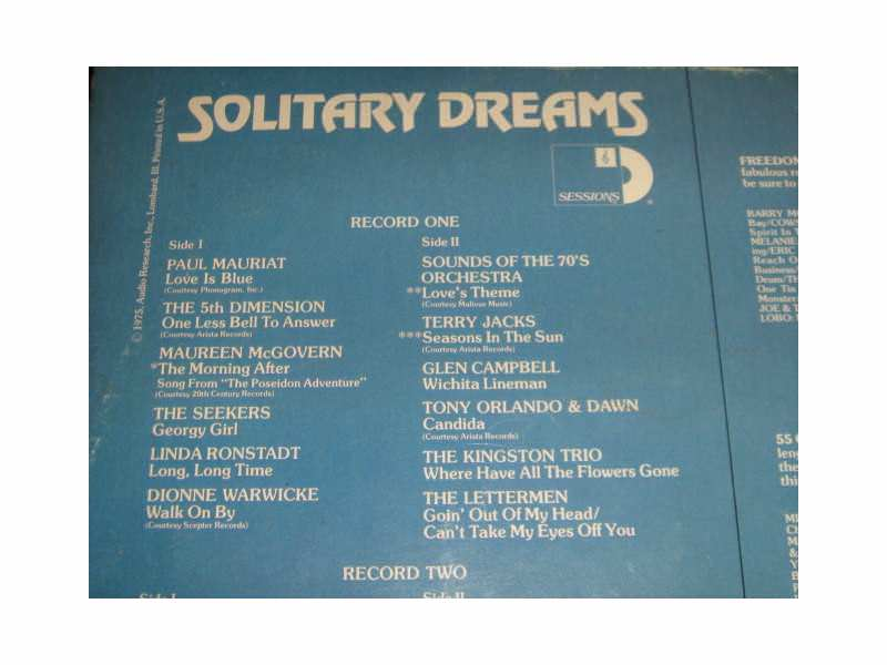 Various - Solitary Dreams (2LP)