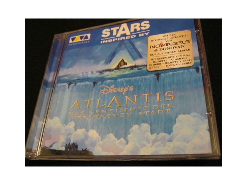 Various - Stars Inspired By Disney`s Atlantis: Das Geheimnis Der Verlorenen Stadt