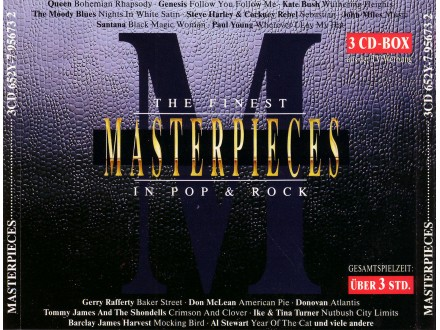 Various - The Finest Masterpieces in Pop & Rock  Vol. I