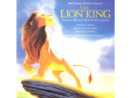 Various - The Lion King (Original Motion Picture Soundtrack)