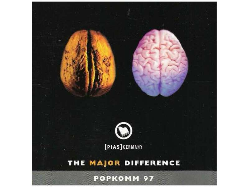 Various - The Major Difference - Popkomm 97 - 2CD