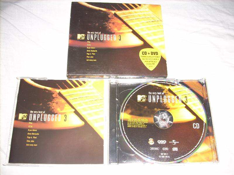 Various - The Very Best Of MTV Unplugged 3,CD+DVD