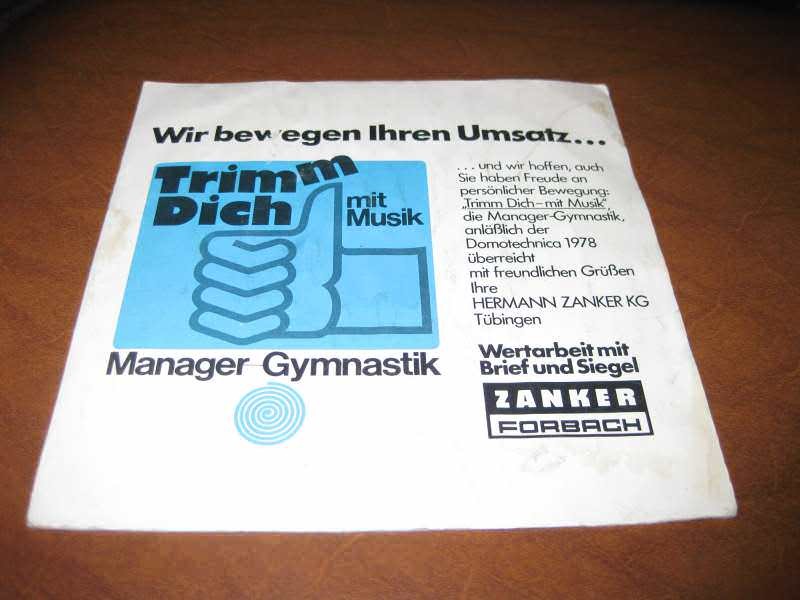 Various - Trim Dich mit Musik - Manager Gymnastik