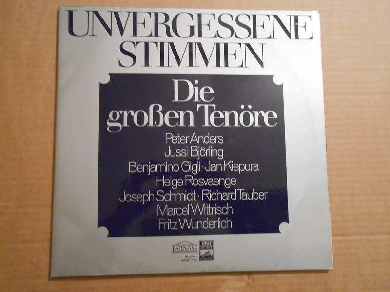 Various - Unvergessene Stimmen (Die Grossen Tenöre)