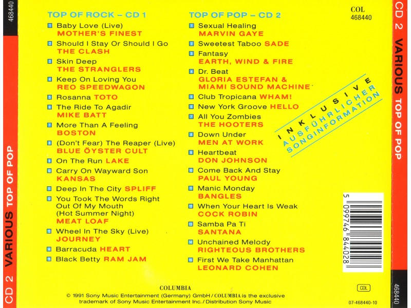 Various - Various Top of The Pop