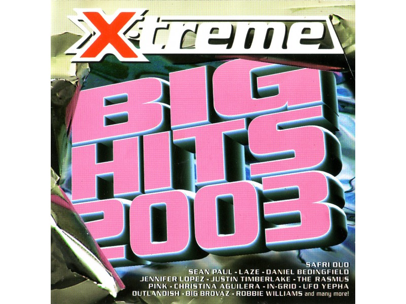 Various - X-Treme Big Hits 2003