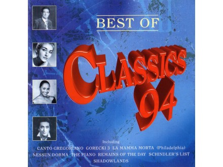 Variuos - Best Of Classics `94