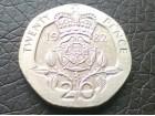 Velika Britanija, 20 penija 1982