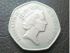 Velika Britanija, 50 penija 1997