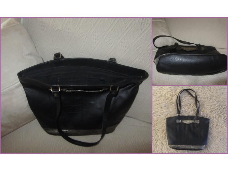 Velika, crna torba