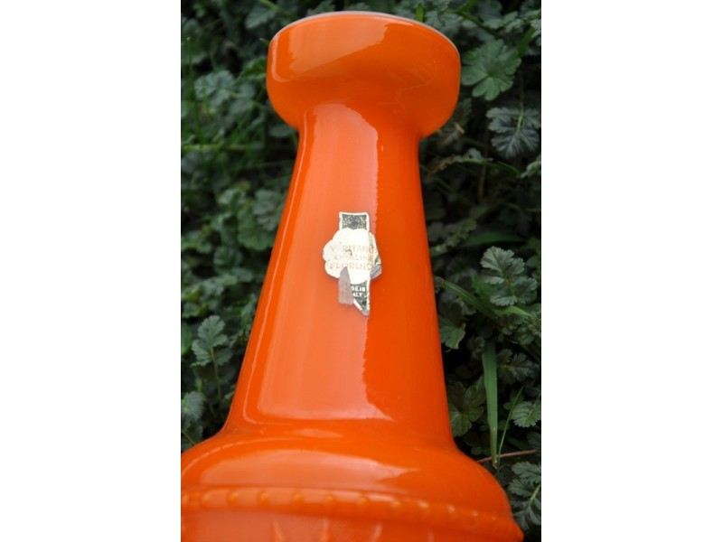 Velika vaza od Opalin stakla original 27,5 cm