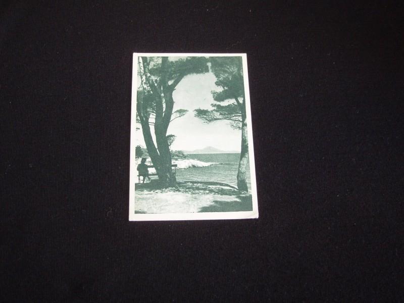 Veliki Losinj,cb razglednica,oko 1950,cista.