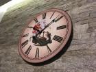 Veliki nečuj. slavski zidni sat sv Georgije Djurdjevdan