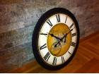 Veliki necujan zidni sat 40 cm (dostupno 50,60,68,80)