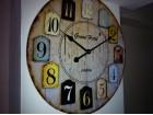 Veliki zidni sat Grand hotel London 40 cm precnik