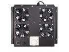 Ventilator panel LogiLink za stojeci RACK sa 4 ventilatora i termostatom,  363 x 375 x 47 mm crni
