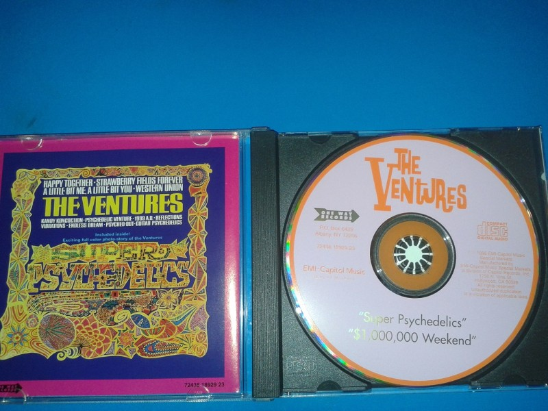 Ventures, The - Super Psychedelics / $1,000,000 Weekend