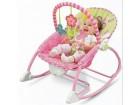 Vibrirajuca lezaljka za bebe,roze,novo.