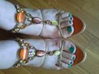 Vicini sandale sa kaišićima i kristalima