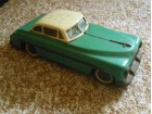 Vintage Packard Hungary Friction Tin Toy Car Oldsmobile