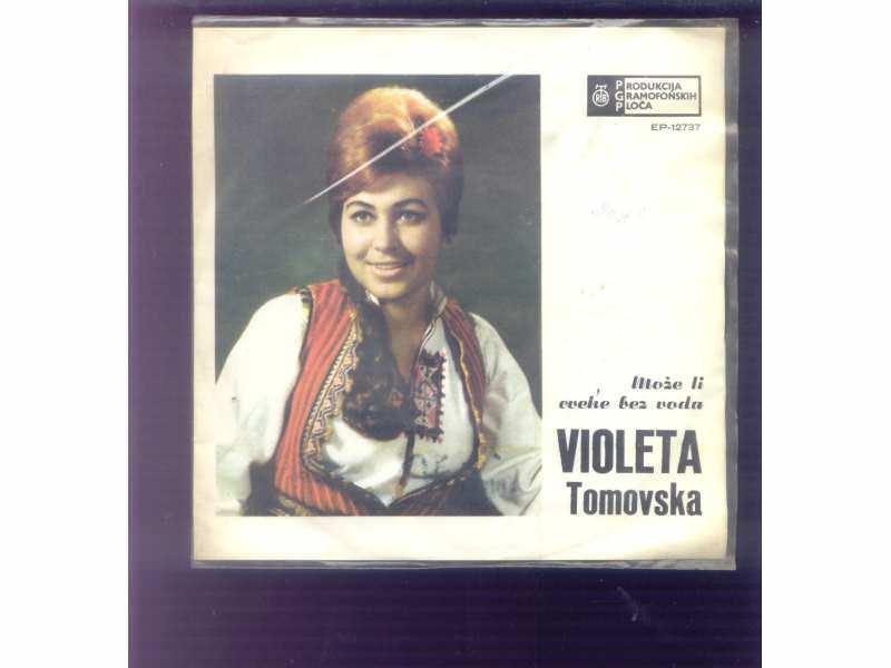 Violeta Tomovska - Može Li Cveke Bez Voda