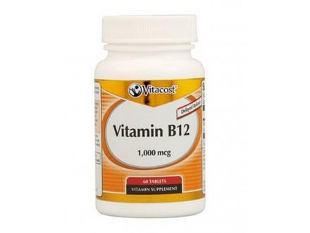 Vitamin B12 sa produženim delovanjem, 1000mcg/60 tab.