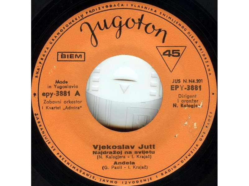 Vjeko Jutt - Najdražoj Na Svijetu