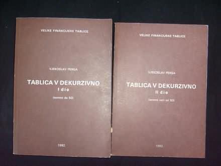 Vjekoslav Pensa, TABLICA V DEKURZIVNO I i II