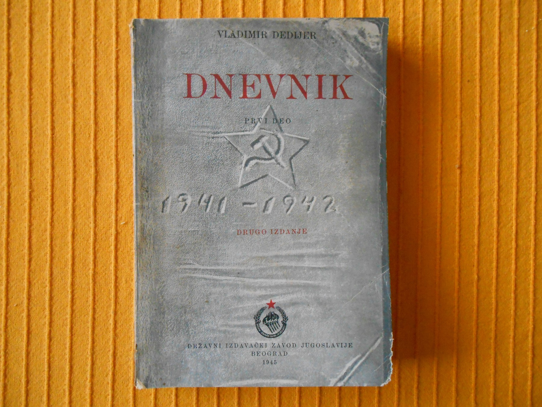 vladimir dedijer dnevnik
