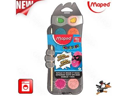 Vodene boje Maped Color Peps 1/12 Art. 811520 - Novo