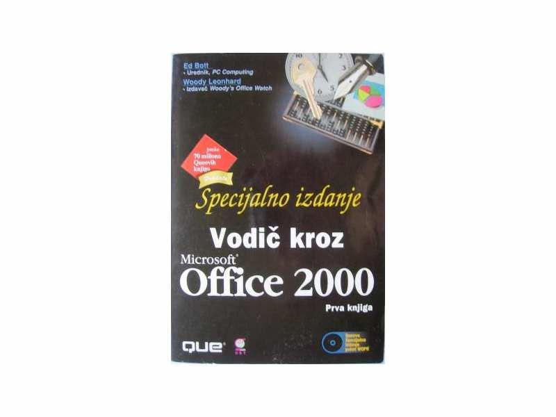 Vodič kroz Microsoft Office 2000 Prva knjiga