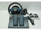 Volan za igrice sa papučicama gas i kočnica + menjač