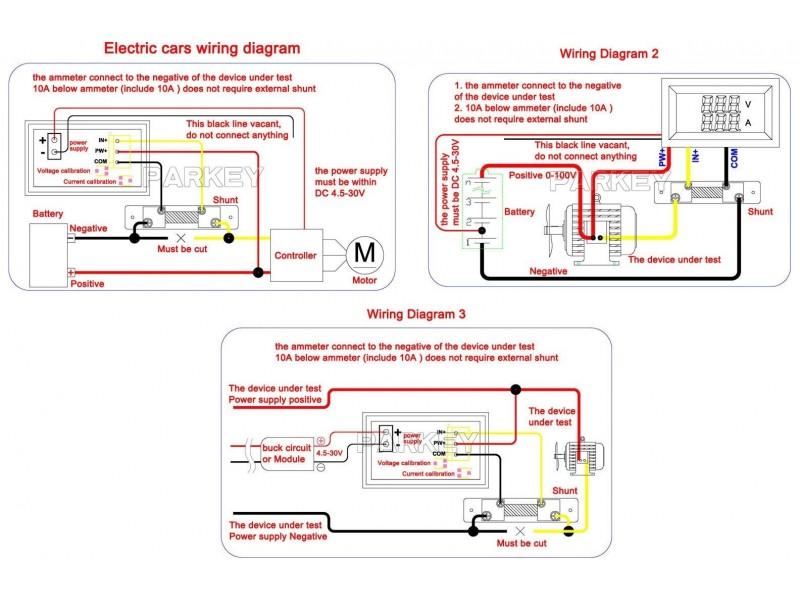 Voltmetar i Ampermetar DC 30V i 10A crveni displej