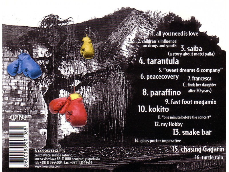 Voodoo Popeye - Tubed Sellotape