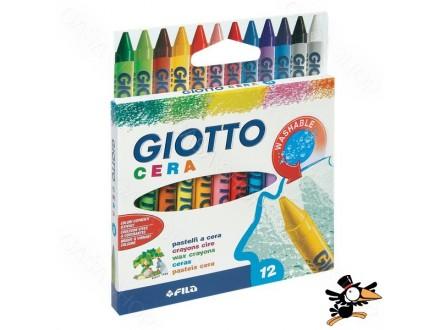 Voštane boje Fila Giotto Cera 12kom 281200 - Novo