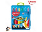 Voštane boje Maped Smoothy aquarell 1/6 836111 - Novo