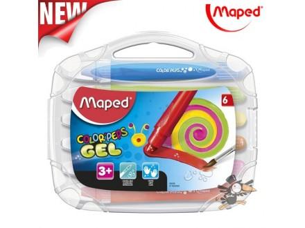 Voštane boje Maped gel 1/6 No.836306 - Novo