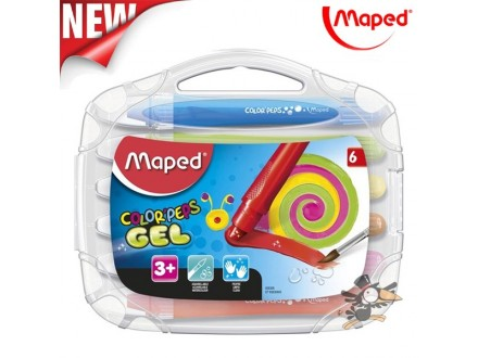 Voštane boje Maped gel aquarell 1/6 No.836306 - Novo