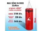 Vreća za boks - Džak za boks (Mali) 90x35cm