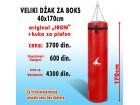 Vreća za boks - Džak za boks (VELIKI) 170x40cm