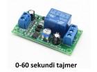 Vremenski rele - tajmer - 0-60 sekundi - 12V