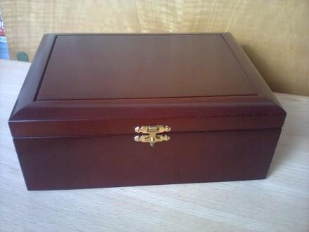 Vrhunska drvena skrinja DE LUX (za nakit i ostalo)