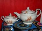 Vrhunski porcelan - THUN - ART DEKO set za čaj