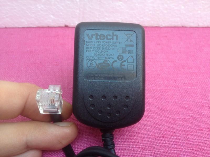 Vtech adapter 6V 600mAh + GARANCIJA!